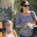 Courteney Takes Coco To Her Dance Recital