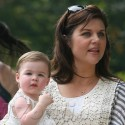 Tiffani Thiessen Takes Her Baby For A Stroll In NYC