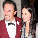 David Arquette And Courteney Cox Enjoy A Night Out