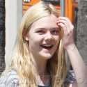 Elle Fanning Can't Stop Smiling