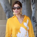 Eva Mendes Does A Quick Change While Out Shopping In West Hollywood