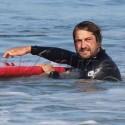 Gerard Butler Smokes And Surfs