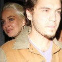 Lindsay Lohan Parties With Emile Hirsch