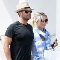 Ryan Seacrest And Julianne Hough Hang Out In Miami