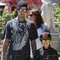 Travis Barker Kicks It With The Cool Kids