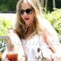 Amanda Seyfried Caters To Her Pup