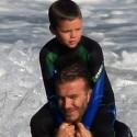 David Beckham Breaking Waves