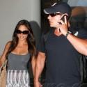 Nick Lachey And Vanessa Minnillo Return From St. Barts