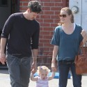 Amy Adams Spends The Day With Her Family