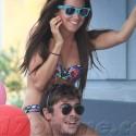 Ashley Tisdale Celebrates B'day With Zac Efron