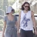 Katy Perry And Russell Brand Get Fruity In LA