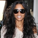 Ciara Hits Up The Trendy Melrose Shops In LA