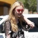 Elle Fanning Wears Crazy Sunglasses In LA