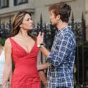 Elizabeth Hurley Films Gossip Girl With Chace Crawford