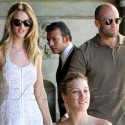Rosie Huntington-Whiteley Takes Jason Statham To Lunch