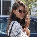 Katie Holmes and Suri Cruise Grocery Shop In Brentwood