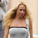 Pamela Anderson Out And About Without Makeup