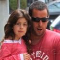 Adam Sandler Hangs With His Girls