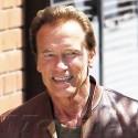Arnold Schwarzenegger Leaves Toscana