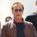Arnold Schwarzenegger Spends Quality Time With Son Christopher In LA