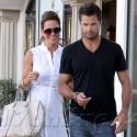David Charvet And Brooke Burke Return From Honeymoon