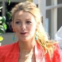 Blake Lively Films Gossip Girl In Beverly Hills