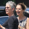 Maria Shriver Out With Jamie Lee Curtis And Son Christopher