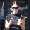 Rachel Bilson Loves Her Coffee