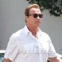 Arnold Schwarzenegger Rocks His Terminator Ring