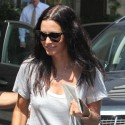 Courteney Cox Does Lunch With A Friend In Beverly Hills