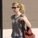 Emma Roberts And Chord Overstreet Stroll Through LA