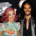 Katy Perry And Russell Brand At The VMAs
