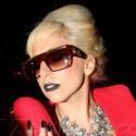 Lady Gaga Gets Her Drink On