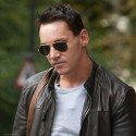 Jonathan Rhys Meyers Cruises The Streets Of London