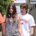Michael Jackson's Kids Leave Voice Lessons In LA