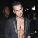 Mike Sorrentino Flashes His Abs