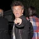 Sean Penn Loses His Temper At Photographers