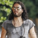 Katy Perry Hides Her New Pink Hair While Grabbing Dinner With Russell Brand