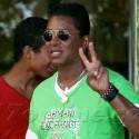 Randy Jackson Visits Michael Jackson's Grave On 53rd Birthday
