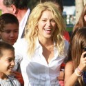 Shakira Attends Press Conference In Florida