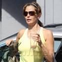 Teri Hatcher Heads To Pilates