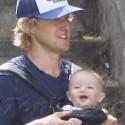 Owen Wilson Shows Off Baby Robert