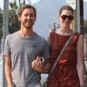 Anne Hathaway Holds Hands With Her Man