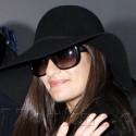 Lea Michele Leaves For Paris Fashion Week