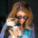 Paula Abdul And Her Pooch