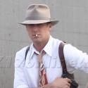 Ryan Gosling Gets Into Character For <em>Gangster Squad</em>