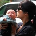 Selma Blair Loves On Baby Arthur