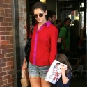 Katie Holmes and Suri Cruise Shop in NYC