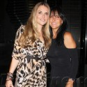 Brooke Mueller Dines At Boa With Mom