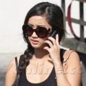 Brenda Song Runs Errands While On Phone In LA